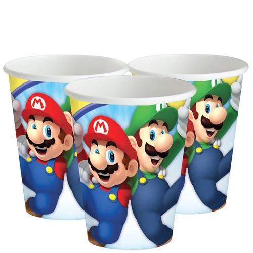 Bicchieri Super Mario Bros