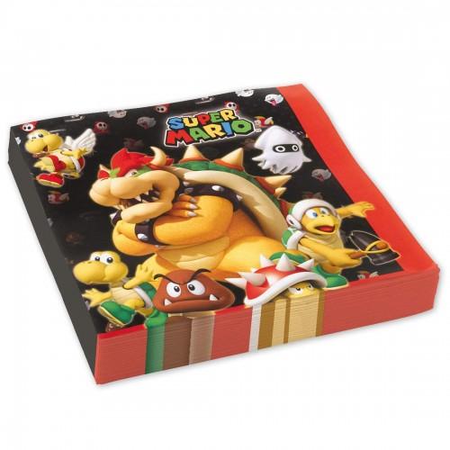 Tovaglioli Super Mario Bros