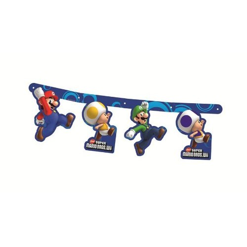 Festone Super Mario Bros per feste