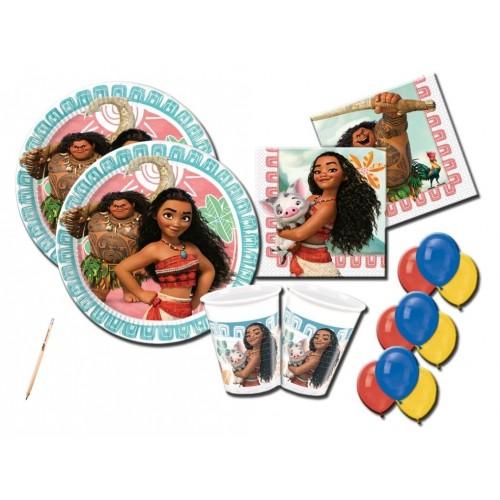 Kit compleanno Oceania Disney 8 persone