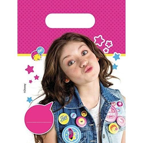 6 Sacchetti di plastica tema Soy Luna
