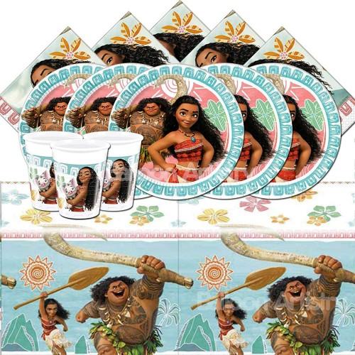 Kit compleanno Oceania Disney 16 persone
