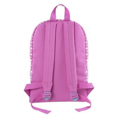 Zainetto Bambina Disney Soy Luna - Zaino con tasca frontale a stelle - Cartella scolastica per lasilo e la scuola con spalla