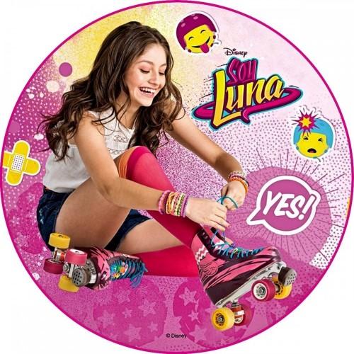 Cialda in ostia tema Soy Luna