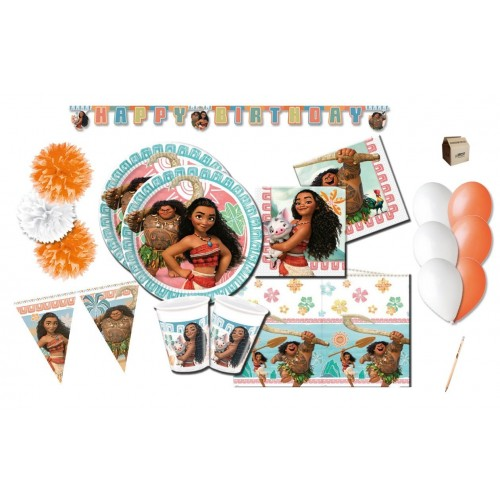 kit compleanno Oceania Disney 32 persone
