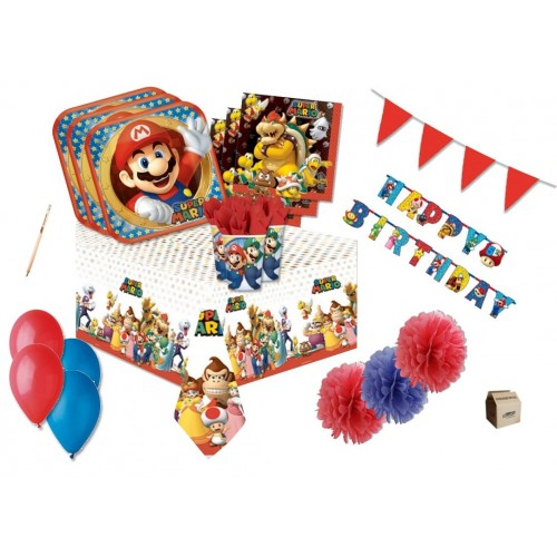 Kit 32 persone Super Mario Bros