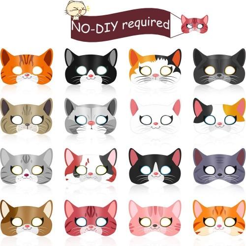 colore: Blu riutilizzabile Cappello di compleanno per gatti per cani e gatti per feste di compleanno Smileuep