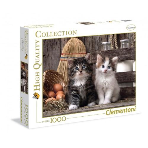 Puzzle 1000 pezzi tema gatti - Clementoni