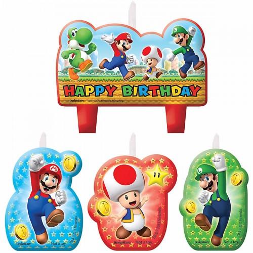 Candeline Super Mario Bros