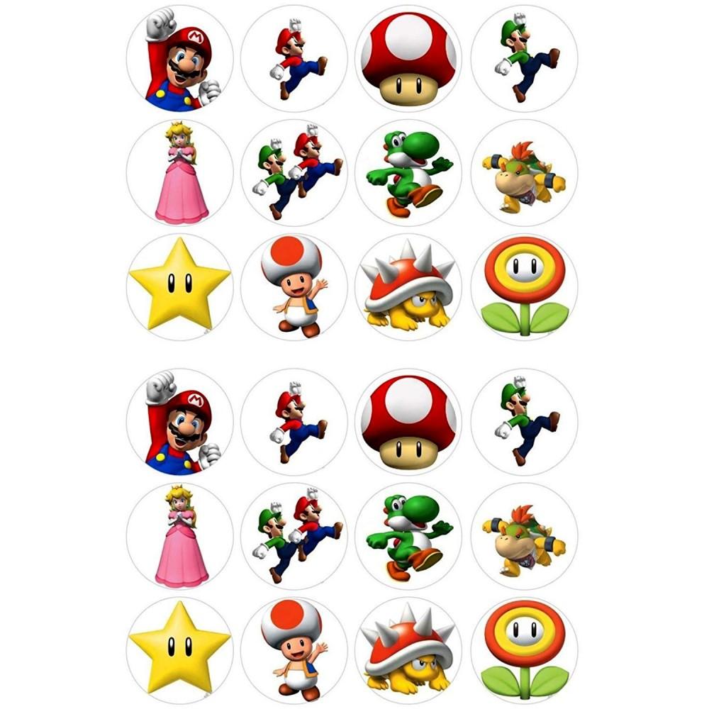 Mini cialde Super Mario Bros