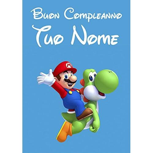 Cialda personalizzata Super Mario Bros