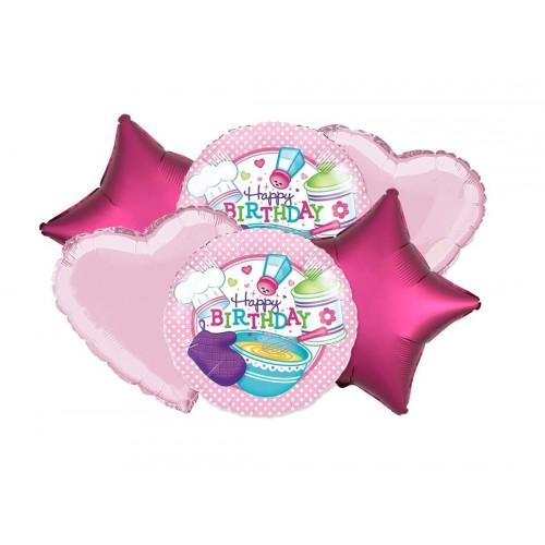 Bouquet di palloncini - Little Chef - Piccoli cuochi