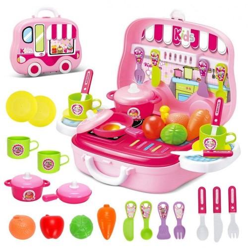 Valigetta cucina giocattolo