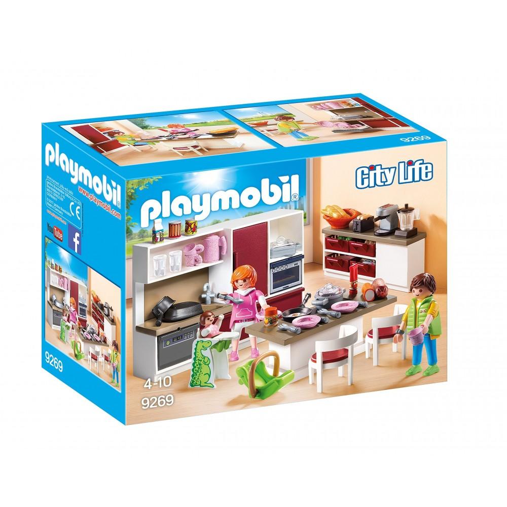 Regalo Bambina 4 Anni playmobil - grande cucina attrezzata, idea regalo per bambini