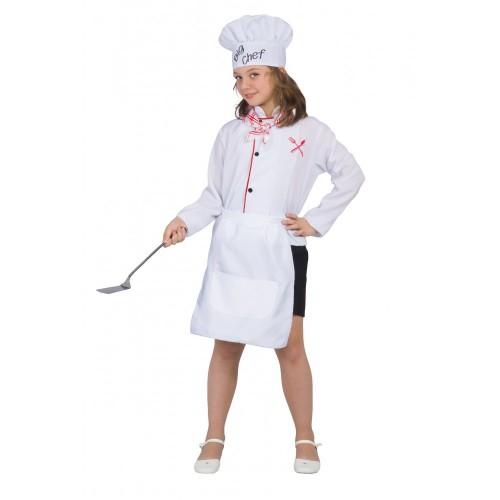 Costume chef bambina