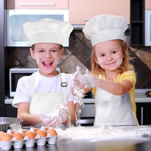 Grembiule cucina per bambini con cappello