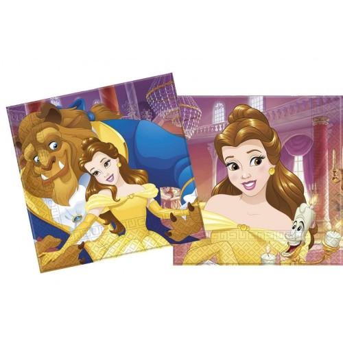 Tovaglioli La Bella e la Bestia - Disney
