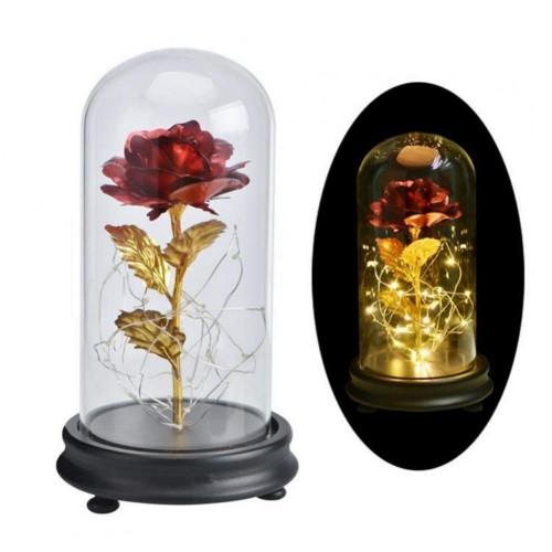 Rosa in vetro - La Bella e la Bestia