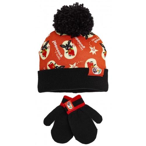 Set Cappello lana e guanti di Bing