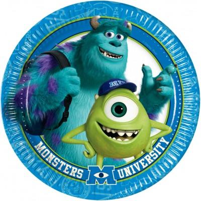 Piatti Monster University da 23 cm, per feste di compleanno