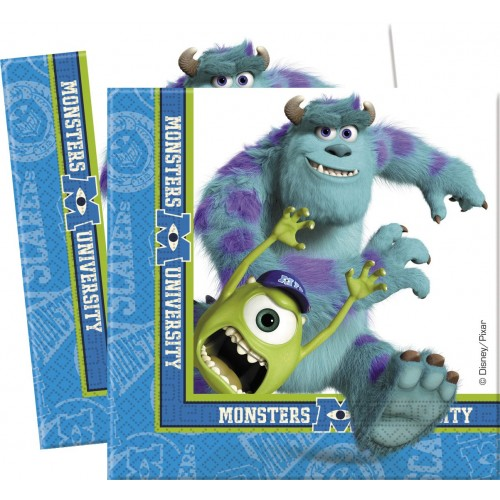 Tovaglioli Monster University