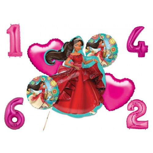 Bouquet di palloncini tema Elena of Avalor