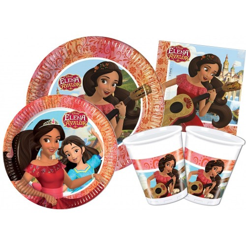 Kit per 24 persone tema Elena of Avalor