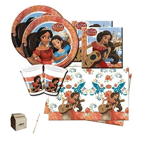 Kit per 32 persone tema Elena of Avalor