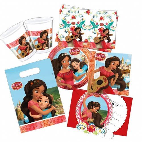 Kit per 8 persone di Elena of Avalor Disney