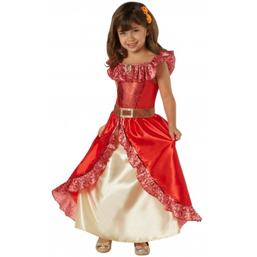 Rubies- Costume Elena di Avalor per Bambini, L, IT630039-L