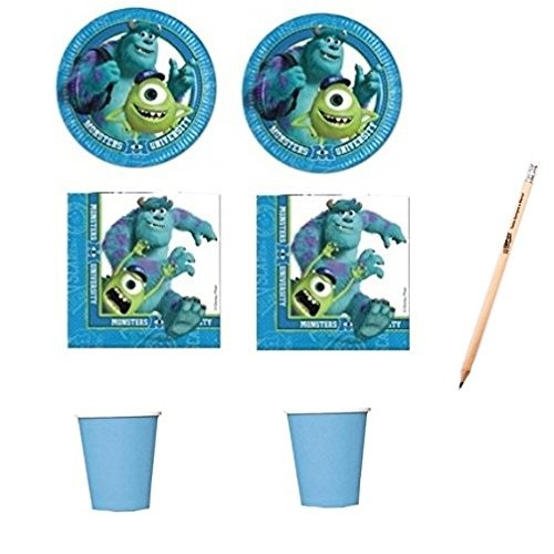 Kit 16 persone Monster University
