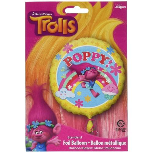 Foil in mylar dei Trolls - Disney