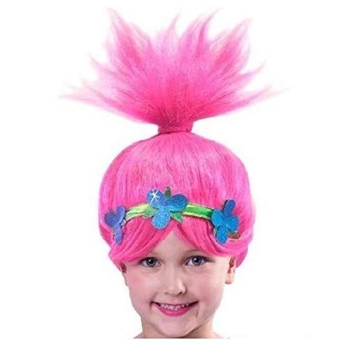 Parrucca Troll principessa Poppy