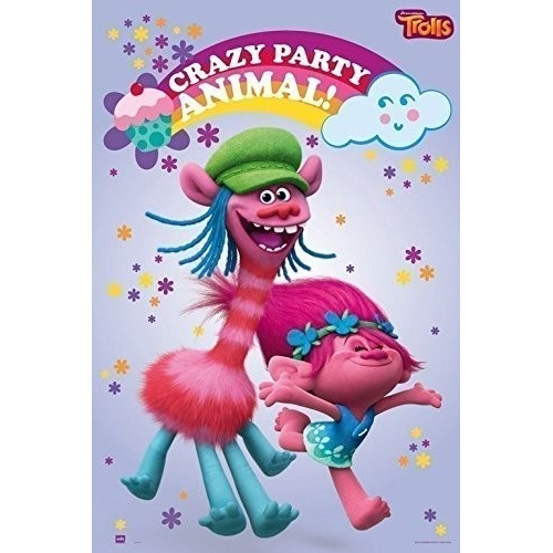 Poster decorativo dei Trolls Disney