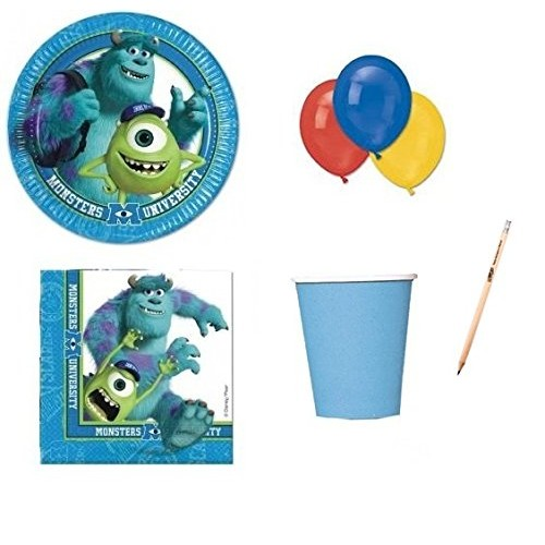 Kit 8 persone Monster University