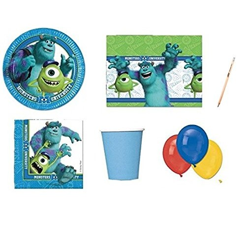 Kit 64 persone Monster University per feste