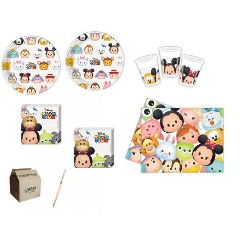 Set per 32 persone tema Tsum Tsum Disney