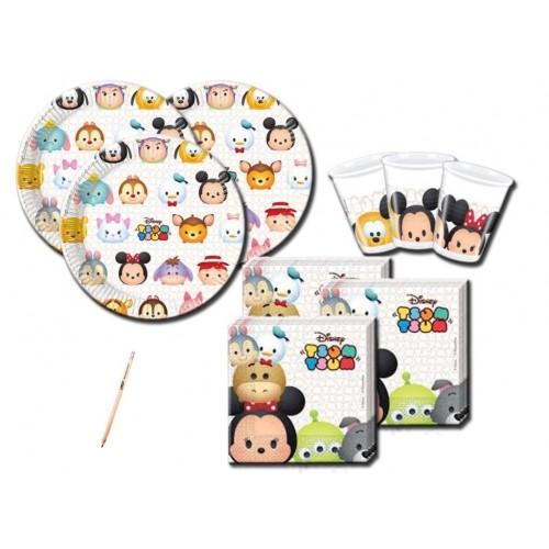 Kit per 16 bambini tema Tsum Tsum Disney