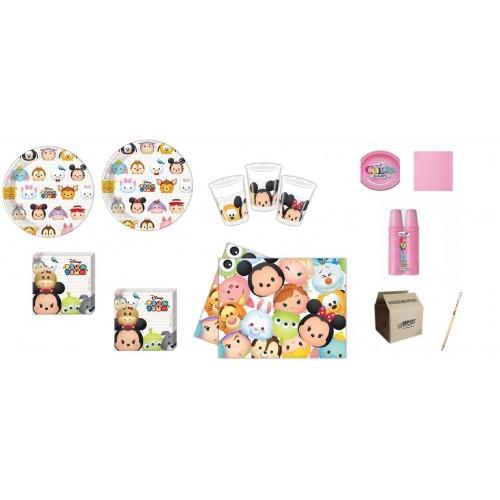 Kit per 8 persone tema Tsum Tsum Disney