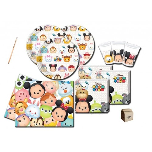 Set per 40 persone tema Tsum Tsum Disney