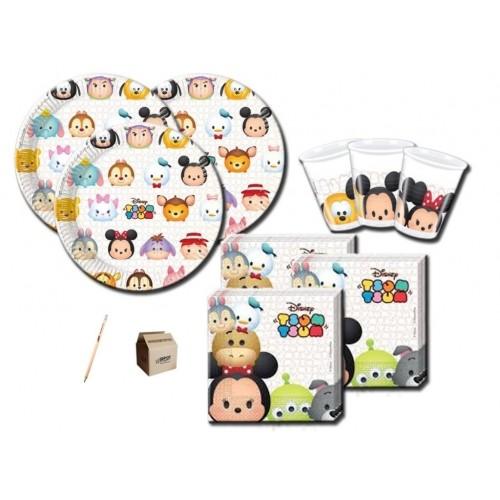Kit per 80 bambini tema Tsum Tsum Disney