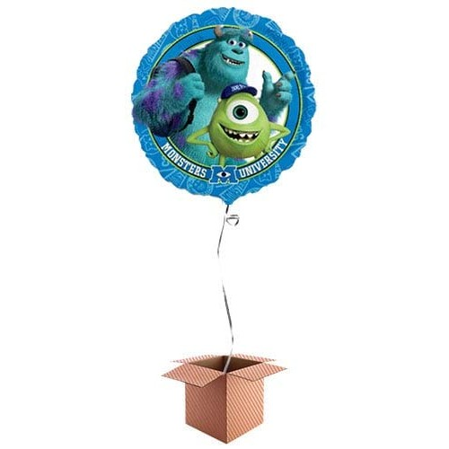 Palloncino con scatola regalo Monster University