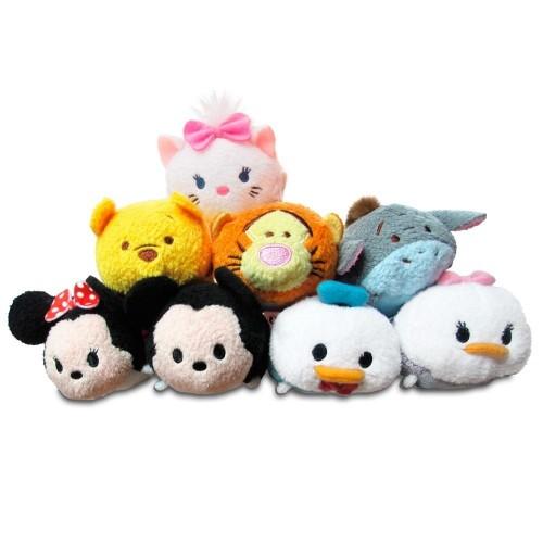 8 peluche Tsum Tusm Disney