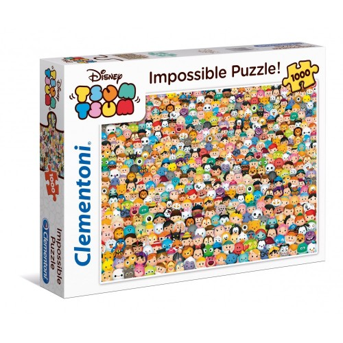 Clementoni Tsum Impossible Puzzle, 1000 Pezzi, 39363