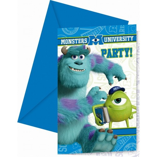 Inviti compleanno Monster University