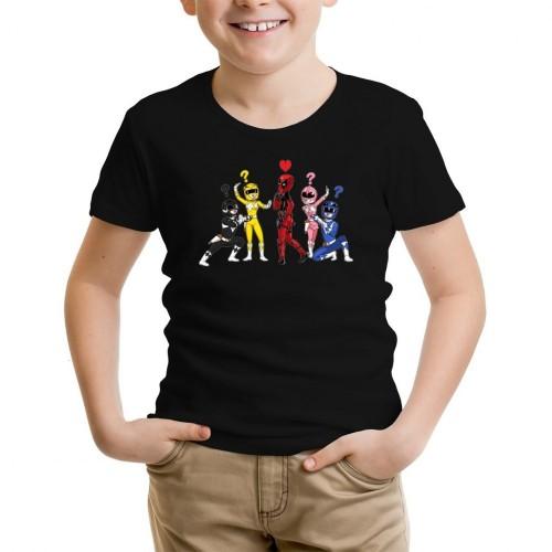 Maglietta per bambini dei Power Rangers