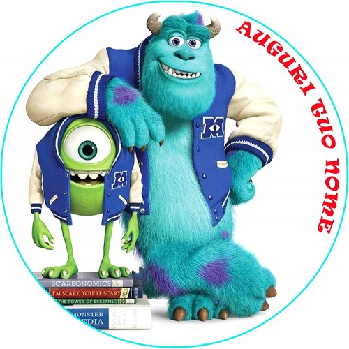 Cialda personalizzabile Monster University
