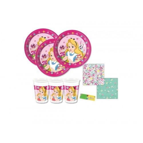 Kit per 80 bambini Alice nel Paese delle Meraviglie