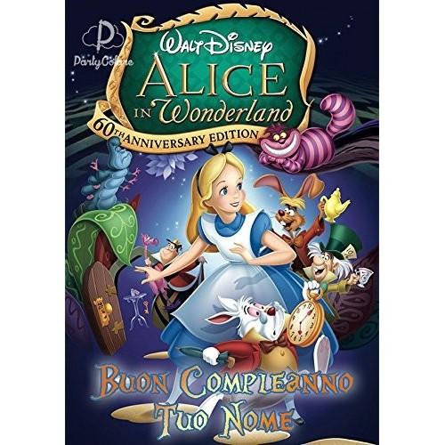 Cialda Alice in Wonderland il film