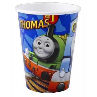 Bicchieri Trenino Thomas, confezione da 8 pz